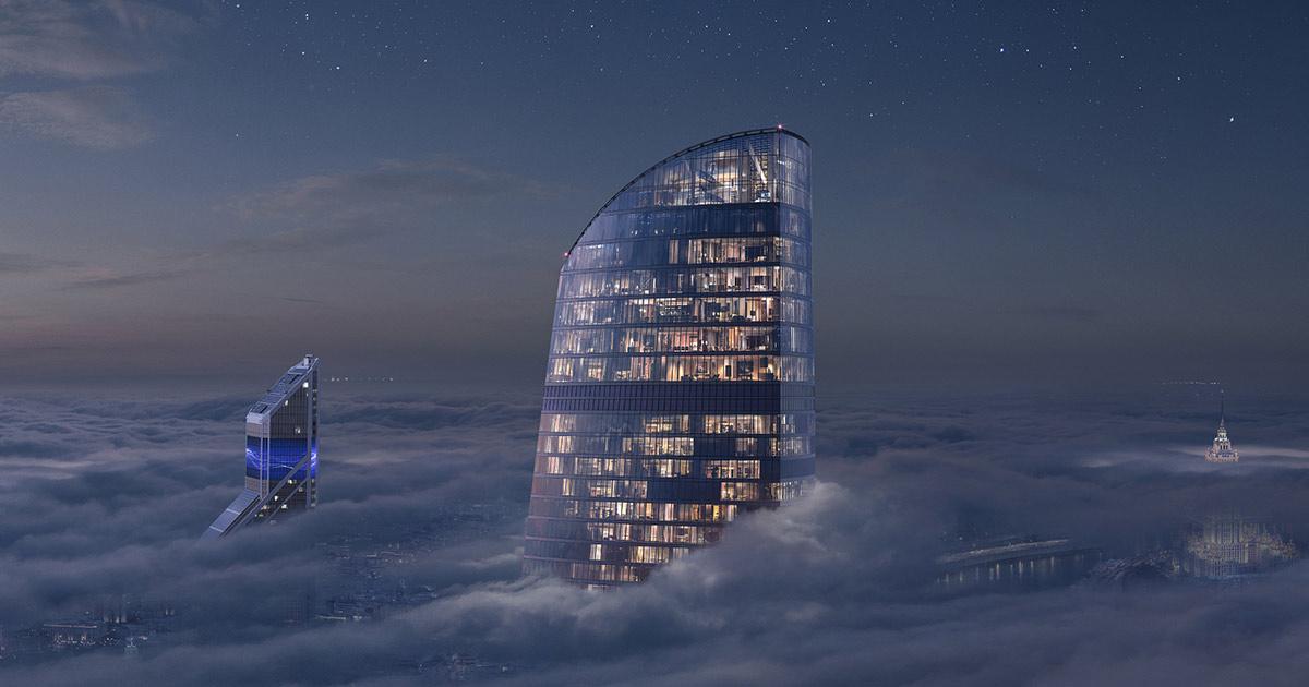 Башня Федерация :: небоскреб №1